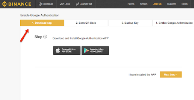 Cách download ứng dụng Google Authentication