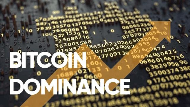 Chỉ số thống trị Dominance của Bitcoin so với những đồng tiền điện tử khác