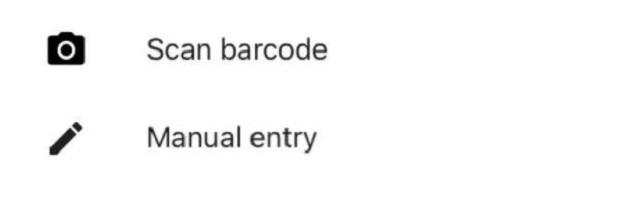 Chọn vào phần Scan barcode để bắt đầu tiến hành quét mã QR code