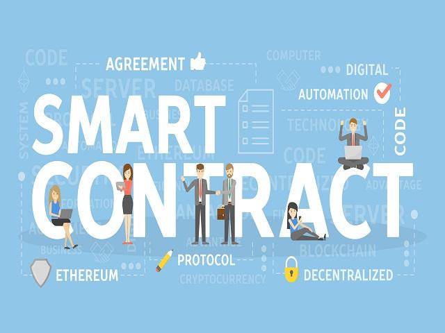 Hợp đồng thông minh được xây dựng thành các Blockchain