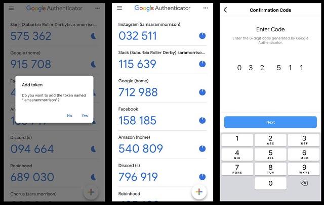 Mật khẩu tạo bởi Google Authenticator chỉ có hiệu lực sử dụng trong 30 giây