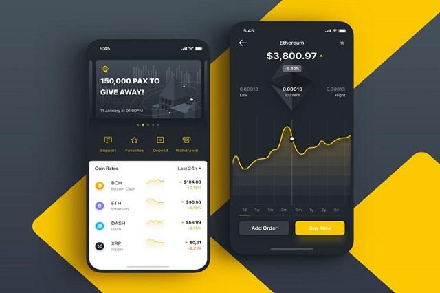 Mua Bitcoin trên sàn Binance