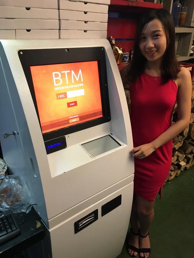 Ngày mùng 5/6/2016, chiếc máy ATM hỗ trợ rút Bitcoin đã xuất hiện tại Việt Nam