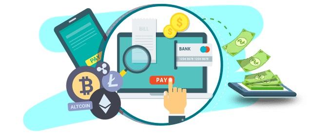 Người dùng có thể sử dụng tiền điện tử để thanh toán cho một số loại hình sản phẩm dịch vụ