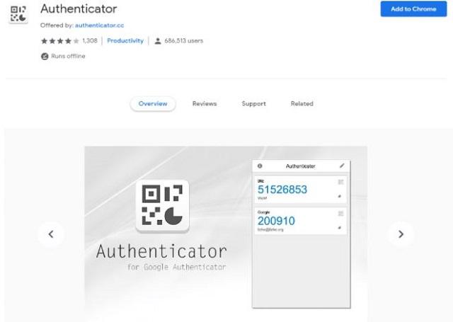 Thêm ứng dụng Google Authenticator vào Google