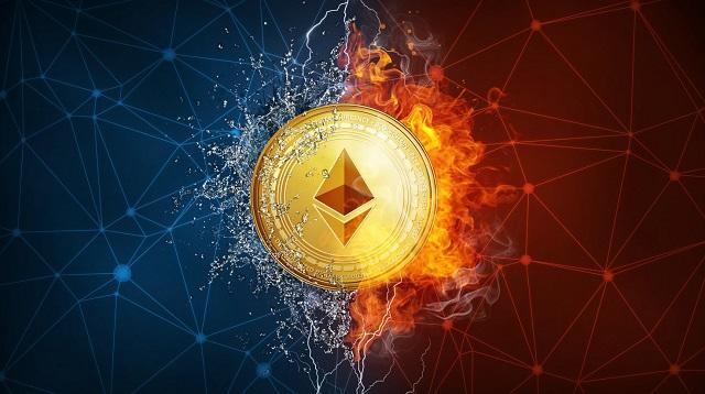 Thời gian tạo khối trên Ethereum chỉ mất từ 14 - 15 giây nhanh hơn hẳn tốc độ tạo khối của Bitcoin