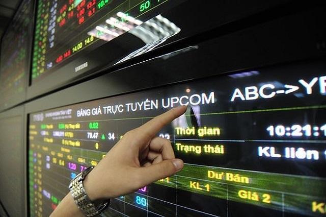Cổ phiếu niêm yết trên sàn Upcom