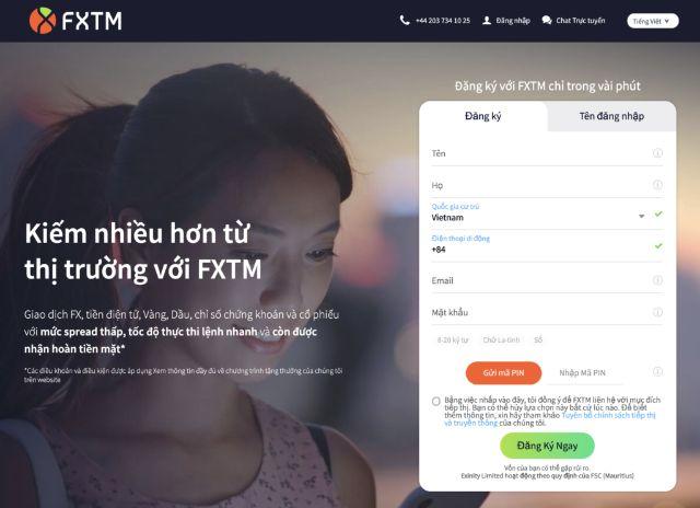 Hướng dẫn đăng ký Fxtm với các bước đơn giản, nhanh chóng