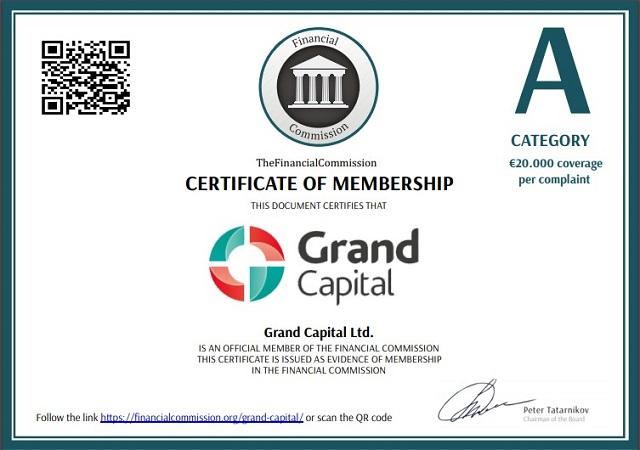 GrandCapita có giấy phép kinh doanh hoàn toàn hợp pháp