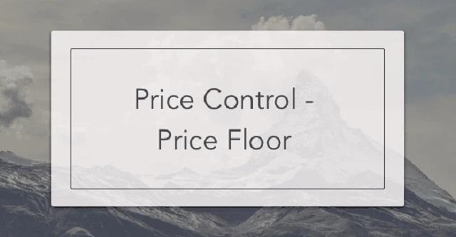 Phân biệt như thế nào là giá sàn - trần?