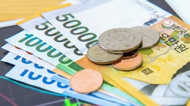 Tiền Won của nước Hàn Quốc