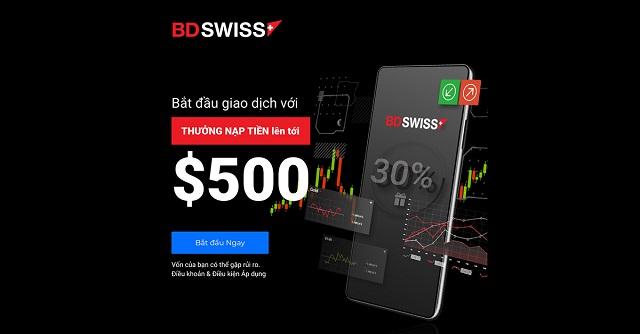 BDSwiss Mobile App được xây dựng bởi chính BDSwiss
