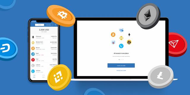 Bạn cần có sẵn một tài khoản ví lưu trữ token
