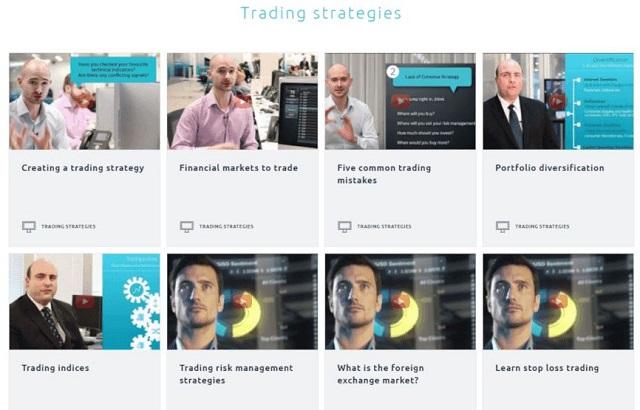 CMC Markets rất tập trung cho khâu đào tạo, bổ sung cho trader chưa có kinh nghiệm