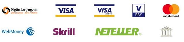 Các cổng hỗ trợ thanh toán trên sàn NPBFX