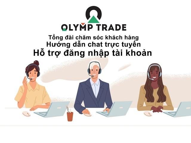 Chất lượng dịch vụ chăm sóc khách hàng của Olymp Trade khá tốt