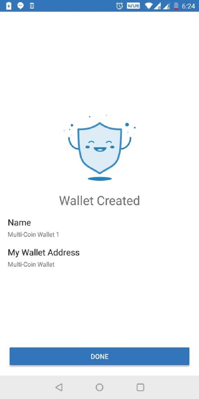Dịch vụ trên Trust Wallet đã sẵn sàng sử dụng