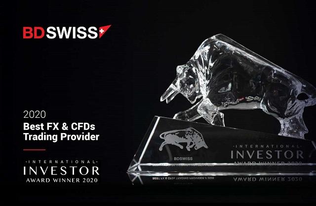 Giải thưởng danh giá BDSwiss từng vinh dự đạt được trong năm 2020