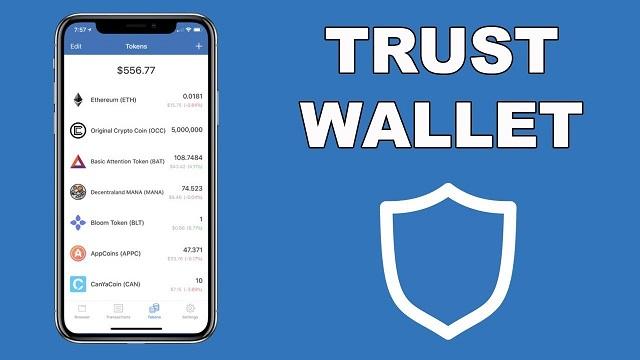 Hệ thống sàn giao dịch phân quyền đã tích hợp ngay trên ví lưu trữ Trust Wallet