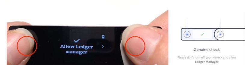 Kiểm tra ví Ledger Nano X có phải hàng chính hãng hay không