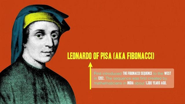 Leonardo Pisano Bogollo là người có công đưa tỷ lệ Fibonacci đến với giới toán học phương Tây