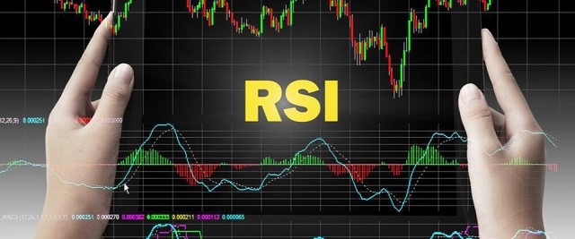 RSI cho phép đo đường biến động giá coin đang ở mức cố gắng mua hay quá bán
