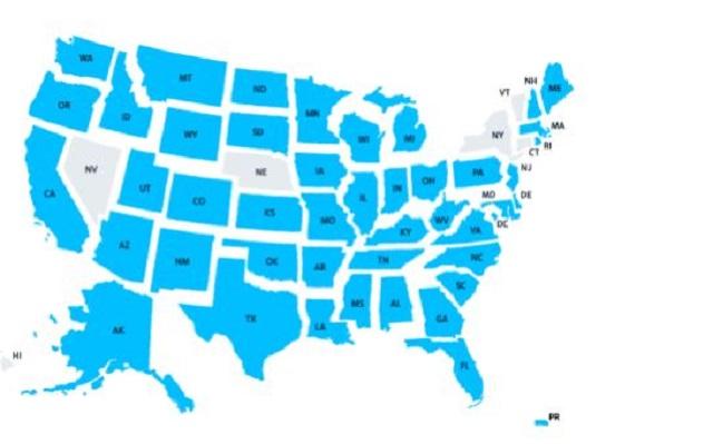 Sàn Bittrex đã được phép hoạt động tại hơn 50 bang tại Hoa Kỳ
