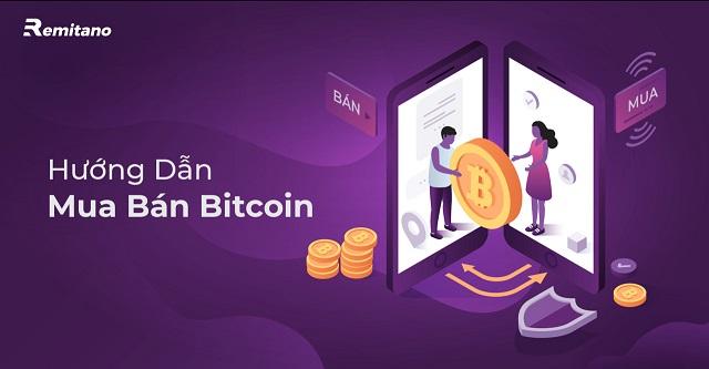 Sàn Remitano cho phép khách hàng mua bán Bitcoin và Altcoin bằng đồng VND