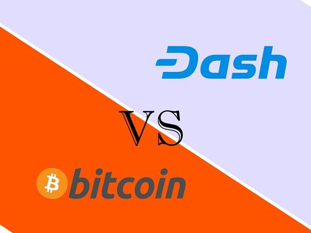 So sánh Dash và Bitcoin