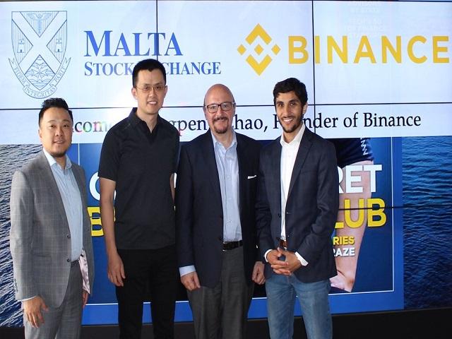 Trụ sở chính của Binance hiện đặt tại quốc đảo Malta