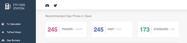 Truy cập vào Gasstation.info để kiểm tra Gas Price tại thời điểm hiện tại