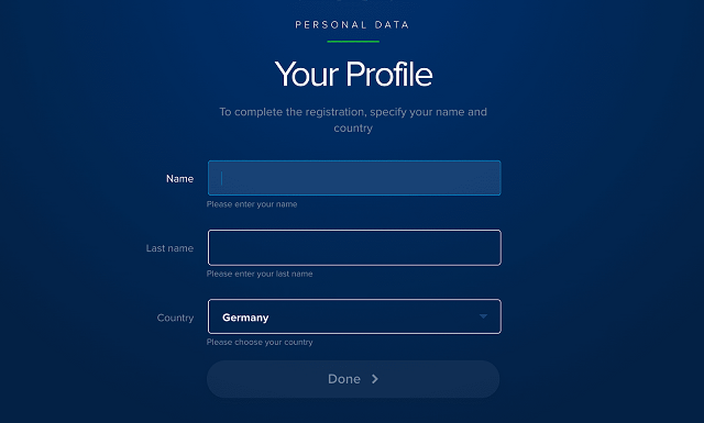 Đăng nhập lại Payeer với tên tài khoản và mật khẩu như đã cài đặt