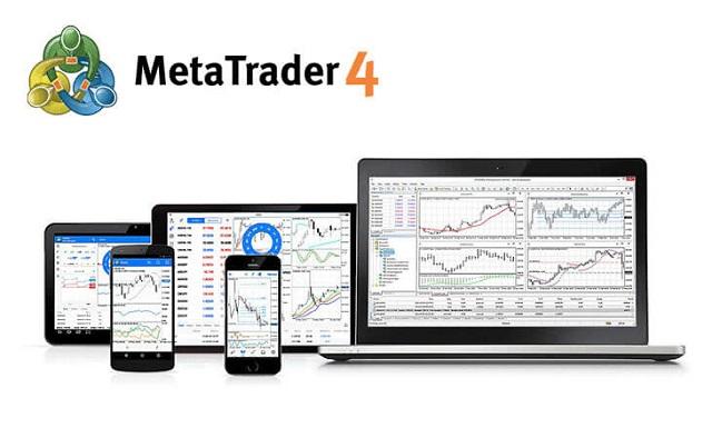 MT4 hỗ trợ người dùng 3 dạng biểu đồ giá, 9 khung thời gian theo dõi