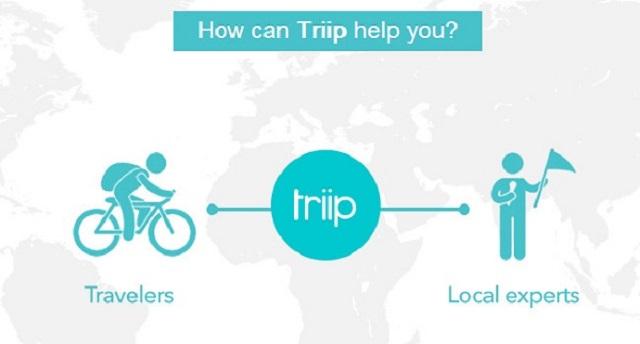 Mô hình của Triip.me