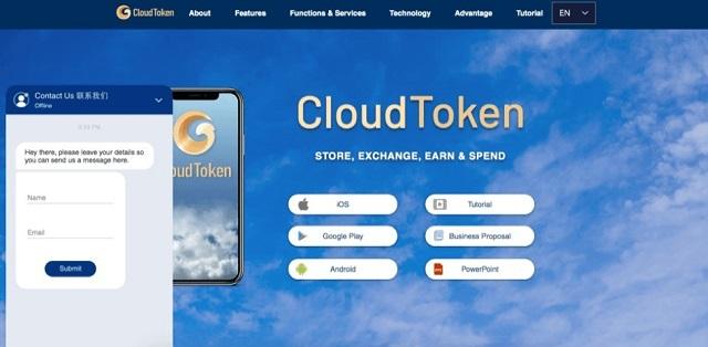 Người dùng cần nạp tối thiểu 500 USD vào ví Cloud Token