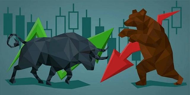 Thị trường Bullish có đặc điểm tăng nhẹ ở giai đoạn bắt đầu đến giai đoạn cao trào thì bùng nổ và cuối cùng là rơi vào thời kỳ suy thoái