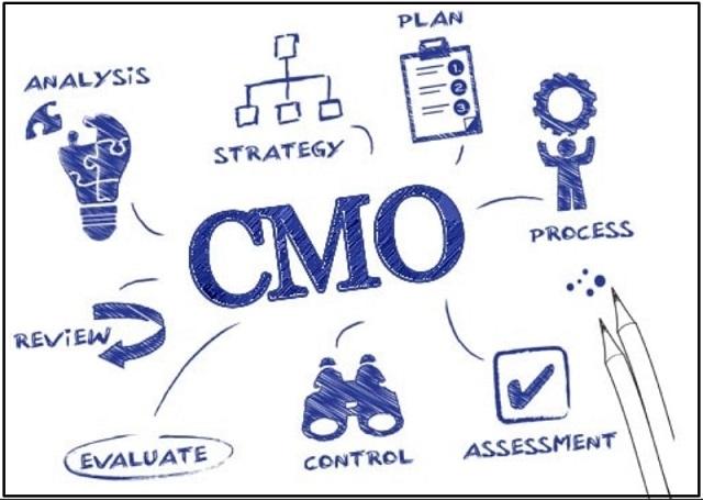 CMO chính là người quản lý cấp cao nắm giữ mọi trách nhiệm về mảng Marketing của công ty
