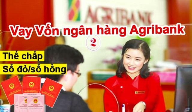 Vay vốn ngân hàng Agribank thế chấp sổ đỏ là như thế nào?