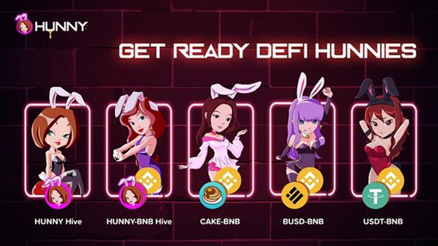 HUNNY Hive thuộc một trong những nhóm thanh khoản chính trên PancakeHunny