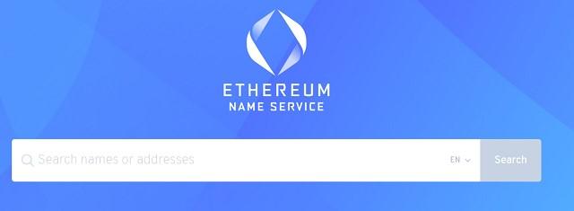 Nền tảng cho phép người dùng đăng ký miễn phí tên miễn .ETH ngay tại ens.domains