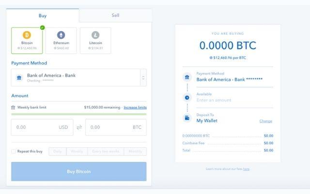 Mua đồng Bitcoin tại mục là Wallet/ Deposit Withdrawal của sàn Binance