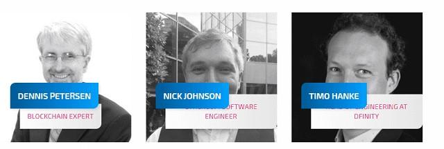 Những nhà phát triển chính và quan trọng nhất của dự án với 3 thành viên nổi bật