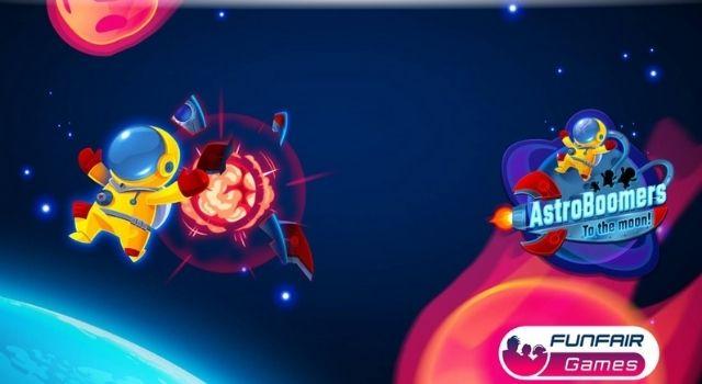 Trò chơi Fun Fair hiện nay là AstroBoomers dựa trên Crash phổ biến