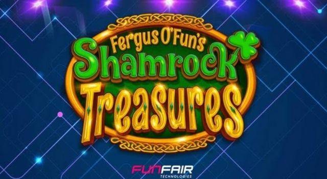 Trò chơi Fun Fair hiện nay là Treasure Shamrock với 1 khe cắm 3×3